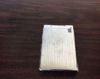 Vintage Magic Isoger Cigarette Case With Lighter