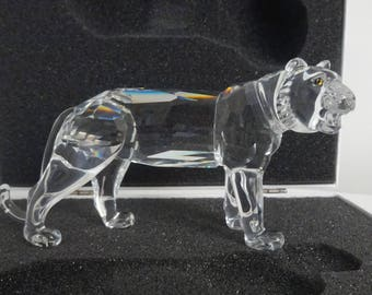 Swarovski Crystal Lioness / Lion Mother 1194085 - Retired  - Mint in Box