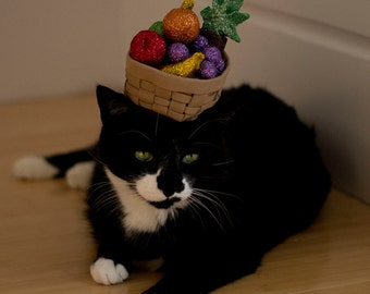 Carmen Miranda Inspired Cat Hat / Kitty Fruit Salad