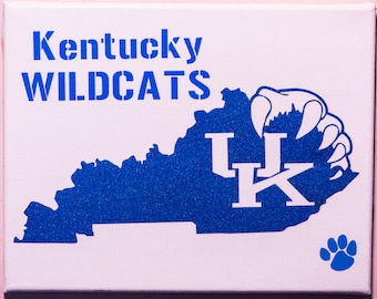 University of Kentucky. Wildcats Canvas