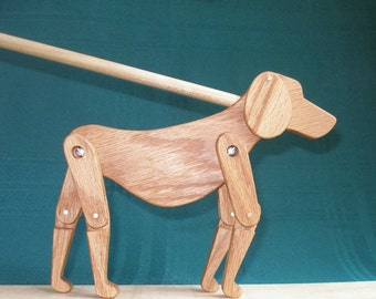 Limberjack Dog with dancing board and stick