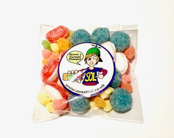 """Sol Simple - Gluten Free """"Sol's Sour Trick"""" Sweetie Pack 150g"""