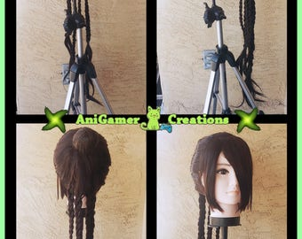 Cosplay Wig: Lulu {Final Fantasy X}