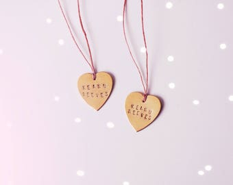 Keanu Reeves Sweetheart Necklace