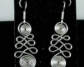 Double Sacred Spiral Earrings