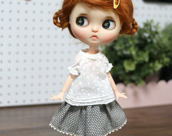 Blythe clothes /  Pure blouse  outfit doll clothes for Blythe, Pure neemo