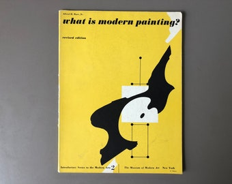 What Is Modern Painting? By Alfred H. Barr, Jr. , Cover Design By György Kepes