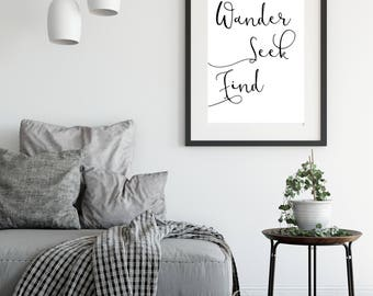 Wander Gift | Wall Art | Home Decor | Travel | Wanderlust | Prints