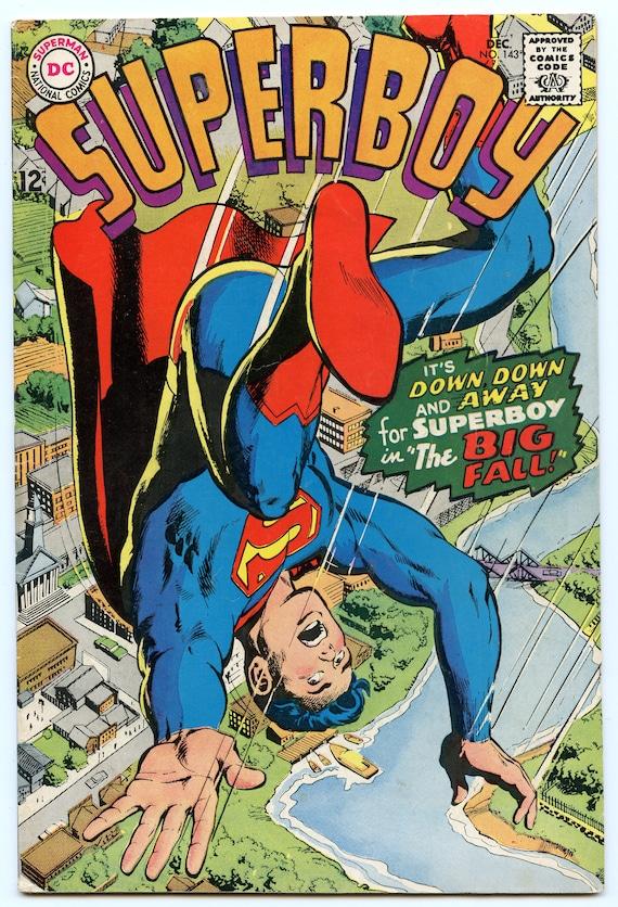 Superboy 143 Dec 1967 VG-FI (5.0)