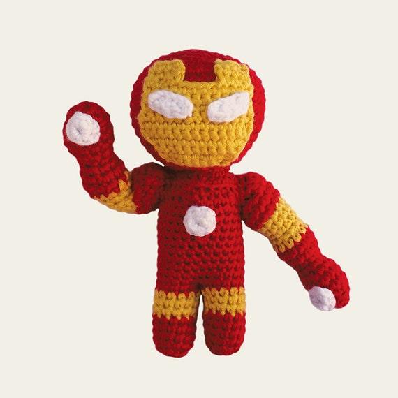 Iron Man - Marvel Comics. Amigurumi Pattern PDF.