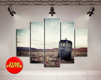 Doctor Who, Tardis, Doctor Who canvas, Tardis canvas, BBC cavnas, Doctor Who wall art, Tardis wall art, Doctor Who print, Doctor Who art