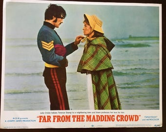 Lobby card from Far from the Madding Crowd, Stamp/Christie.