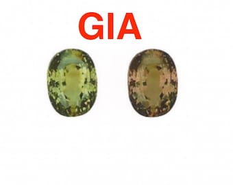 GIA certified 4.75 carat color changing Alexandrite