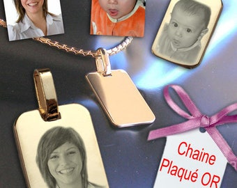 Jewelry with custom engraving