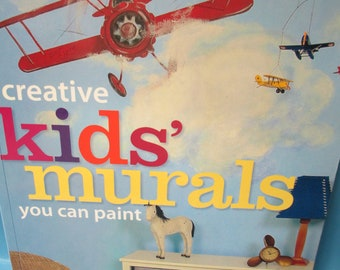 DIY Art Book Create Kids Murals by Susan Whitaker 127 pages new softback how to book