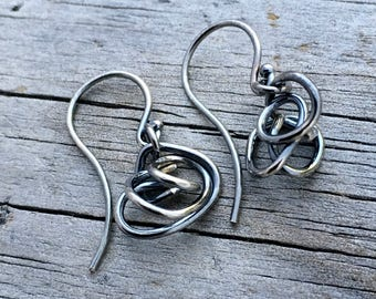 Sterling Silver Earrings Handmade Earrings Wild Prairie Silver Jewelry Joy Kruse