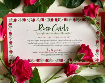 """Rose Cards: The """"Inspirational"""" Collection"""