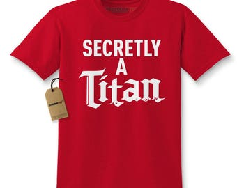 Secretly A Titan Kids T-shirt