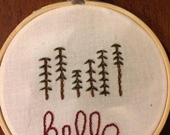 hello embroidery