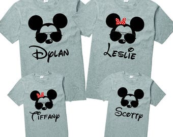 Mickey Mouse Shirt, Boys Mickey Shirt, Custom Disney Shirt, Traditional  Mickey Shirt, Applique Shirt, Embroidered Shirt
