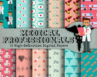 Medical Paper - Nurse Paper, Doctor Paper, Diagnostics, Doctor Clip Art, Office Clip Art, Bandaid Graphic, Nursing Graphics, Medicine, JPG