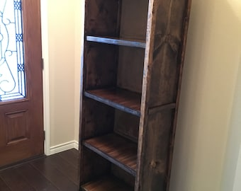 Custom Wood Bookcases