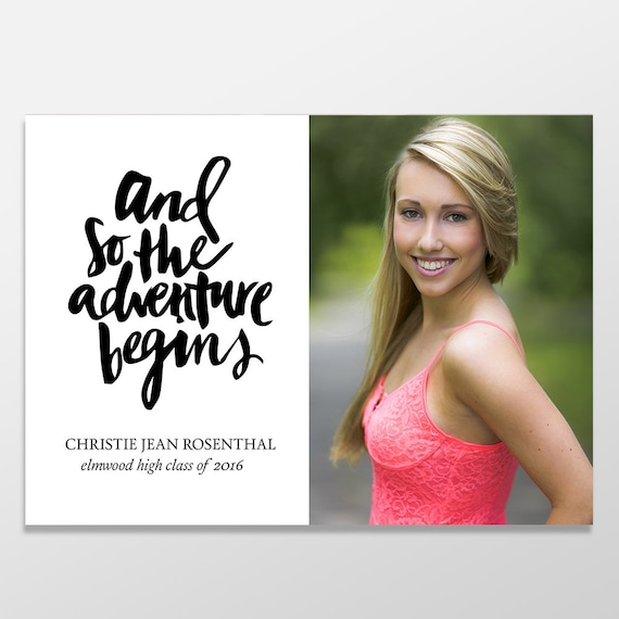 senior graduation announcement photo cards custom graduation