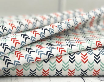 White Arrow Quilt Fabric - By the Sea - Riley Blake Designs - Nautical Quilt Fabric - Nautical Fabric - Sold by Half Yard