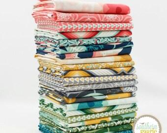 Florabelle - by Joel Dewberry 21 Fat Quarters Bundle Quilt Fabric - for Free Spirit