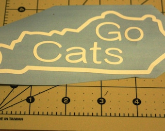 Go Cats Kentucky Decal
