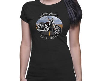 Harley Davidson Low Rider Easy Rider Women's Dark T-Shirt