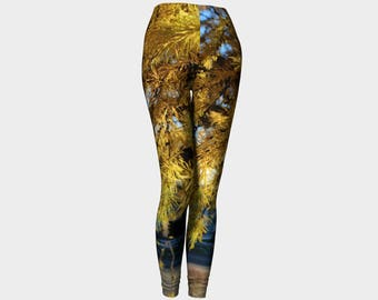 Tamerack Women's Leggings. Inspired by a tree in my yard. U will look and feel different in these!