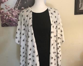 Ella Fashion Kimono - LUSH LONG