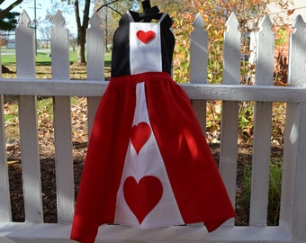 Queen of Hearts Inspired Dress-up Apron