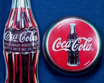 5 Different Coca-Cola Tins in Excellent Condition
