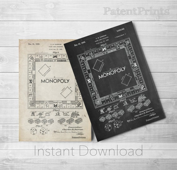 Monopoly printables board game art monopoly blueprint board monopoly printables board game art monopoly blueprint board games pp0131 malvernweather Image collections