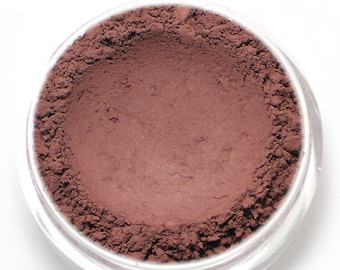 "Matte Eyeshadow - ""Tryst"" - Burgundy - all natural vegan mineral makeup"