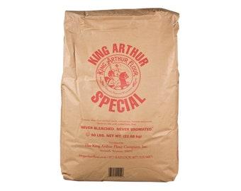King Arthur Special Flour - Hard - High Gluten - NonGMO - Five Pounds