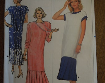 Butterick 3845, size 14, misses, womens, dress, UNCUT sewing pattern
