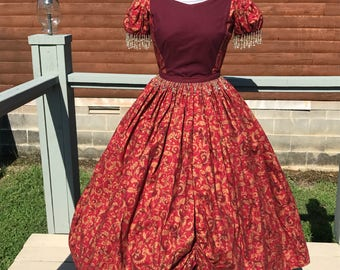 1860 Women's Ball Gown reproduction