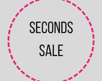 Flawed Enamel Pins Seconds Sale - 50+% off!