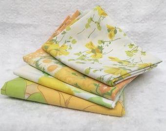 Fat Quarter Bundle, Vintage Yellows