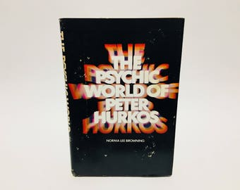 Vintage Non-Fiction Book The Psychic World of Peter Hurkos by Peter Hurkos 1961 Hardcover