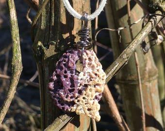 Beautiful Wampum shell necklace