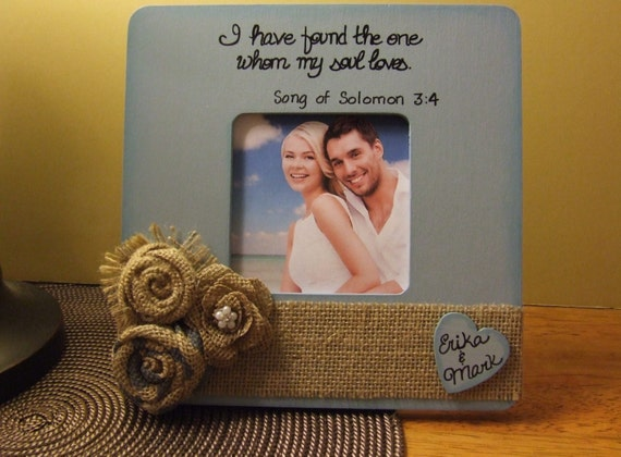 Items similar to Rustic wedding frame Frames with quotes Family ...