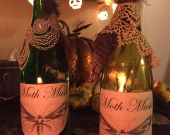 Moth Musk Potion Bottle Decoration
