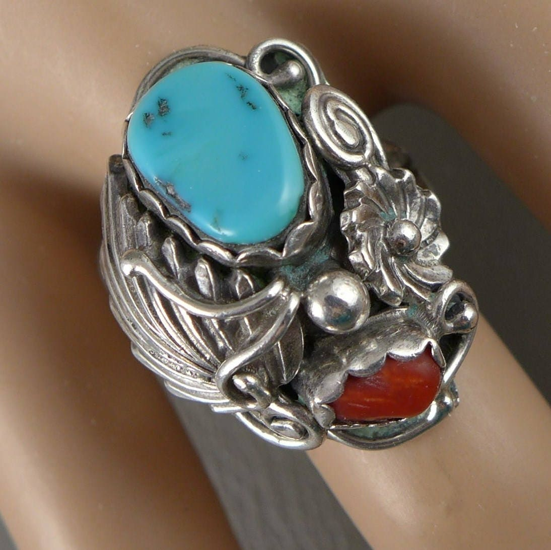 eagle men mens trading blue native moon s american rings sun turquoise round navajo silver rock format wedding post