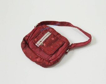 """1/6 Scale Red Handbag Model Lovely Mini Toy For 12""""in Action Figure Dolls Barbie"""