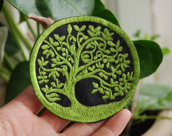 Tree Patch Embroidery Sew On