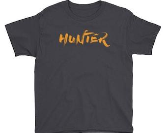 Hunter Halloween Gift Shirt For Kids
